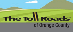 A picture of the logo of The Toll Roads