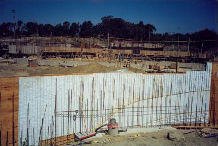 Construction of Water Wall 7